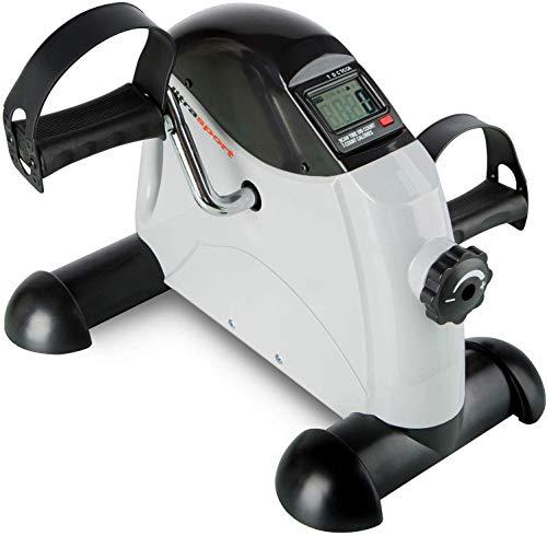 Ultrasport Mini Bike MB 100 per lAllenamento di Gambe e Braccia con Maniglia per il Trasporto, Diversi Livelli di Resistenza, Display LCD, Attrezzo per lAllenamento in Casa o in Ufficio