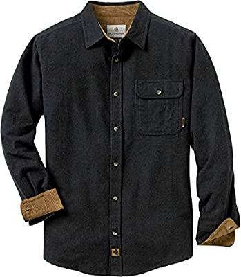 Contrasting corduroy lined collar and cuffs Great look and lasting durability Left chest pocket with pencil slot and button closure Double pleat back for ease of movement