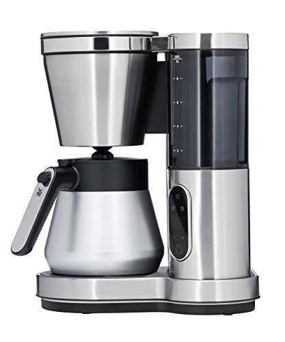 WMF Lumero Macchina da caffè con thermos, 8 tazze, macchina da caffè con display touch, serbatoio dell'acqua rimovibile, filtro girevole, spegnimento automatico, 800 W