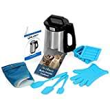 BluSky Butter Machine Botanical Extractor Butter Brewer with Official Cookbook, Silicone Glove, Strainer (filter), 3 Silicone Spatulas and Silicon Butter Mold Tray By Haavitek