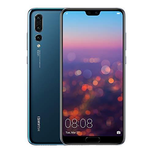Huawei P20 Pro Smartphone débloqué 4G (6,1 pouces  128 Go/6 Go  Single SIM  Android) Bleu [Version européenne]