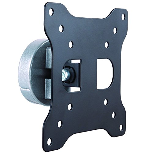 """StarTech.com Monitor Wall Mount - Fixed - Supports Monitors 13"""" to 34"""" - VESA Monitor Wall Mount Bracket - Aluminum - Black & Silver (ARMWALL)"""