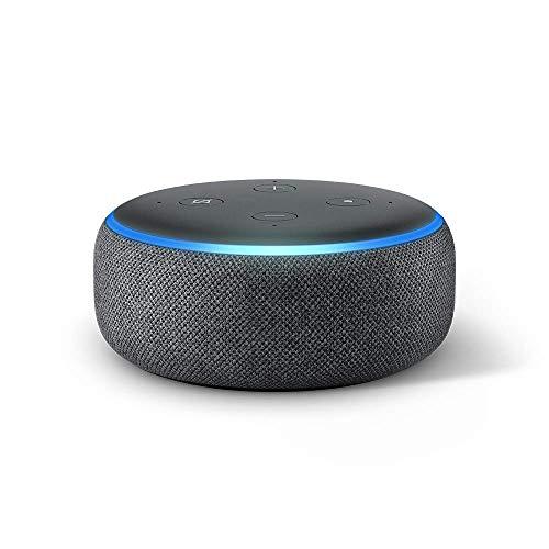 Echo Dot (エコードット)第3世代 - スマートスピーカー with Alexa、チャコール