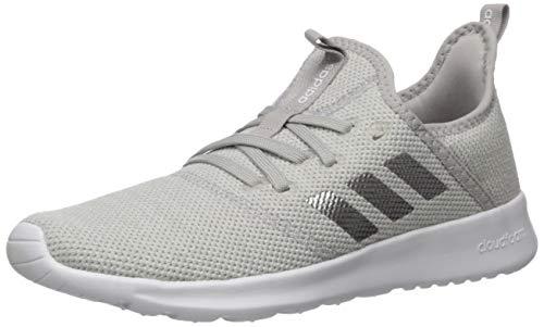 adidas Women's Cloudfoam Pure Running Shoe, Grey/Matte Silver/Grey, 7 Medium US