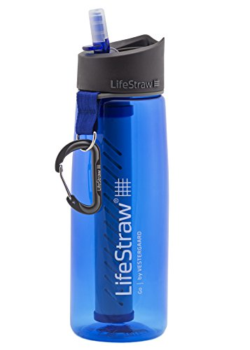 LifeStraw Go 2-Stage Filter bottle Sports and Outdoor, Blue