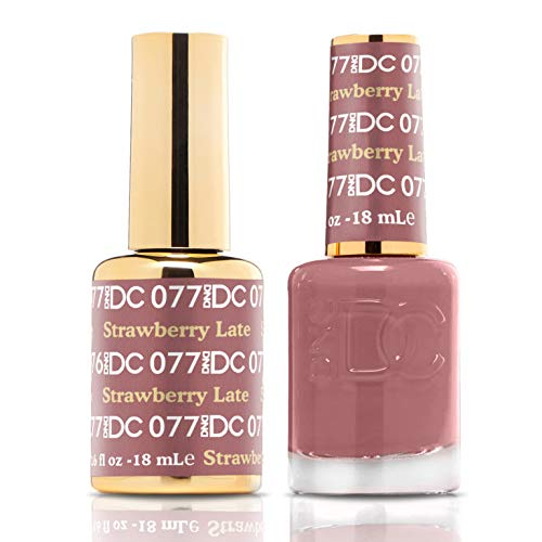 DND Premium DC Gel Set (DC 077 Strawberry Latte)
