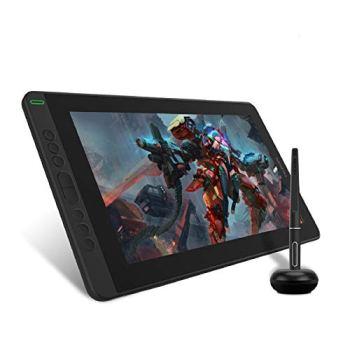 HUION Tablette Graphique avec écran Kamvas 13, écran entièrement laminé de 13,3 Pouces, Prend en Charge la connectivité avec Un Appareil Android, Idéal pour Le télétravail et la Formation en Ligne