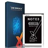 DEJIMAX Haute Capacité 3400 mah Batterie pour Samsung Galaxy Note 3,3400mAh...