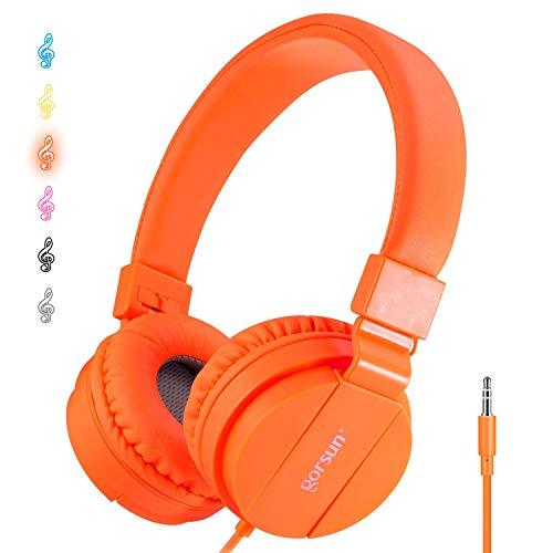 ONTA® Auriculares para Niños,Plegable Cómodos Auriculares...