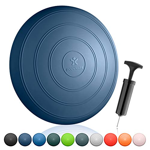 BODYMATE Cojín de Equilibrio Comfort con bombín, diámetro 33 cm |...
