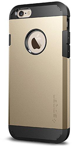 iPhone 6 ケース Spigen®  エアクッションテクノロジー iPhone 4.7 (2014) タフ・アーマー The New iPhone (国内正規品) (シャンパン・ゴールド 【SGP10970】)