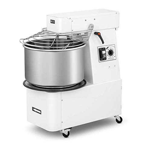Royal Catering Impastatrice Professionale Macchina Planetaria RC-SMRH30 (32 Litri, 88 kg/h, 1.100 W,...