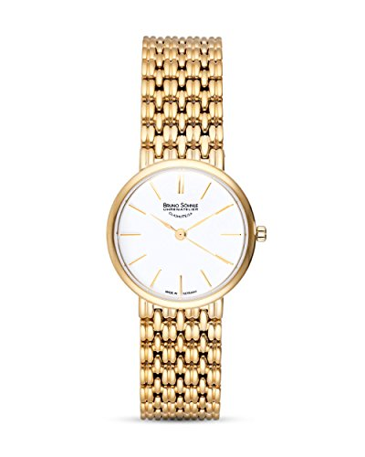 Bruno Söhnle Damen Analog Quarz Uhr mit Edelstahl Armband 17-33169-942