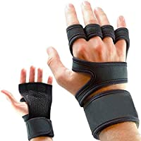 ✅ LEATHER and SILICONE PADDING for EXTRA GRIP - Say goodbye to calluses, tears and breaking blisters! Made from high quality breathable neoprene fabric and reinforced with split leather and a silicone layer, the PRIM8 ULTIMATE GRIP WORKOUT GLOVES bri...