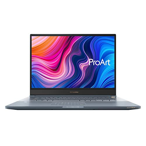 CUK ASUS ProArt StudioBook Pro 17 Mobile Workstation Laptop (Intel i7-9750H, 32GB RAM, 2TB NVMe SSD, NVIDIA Quadro RTX 3000 6GB, 17' WUXGA, Windows 10 Professional) Business Notebook Computer