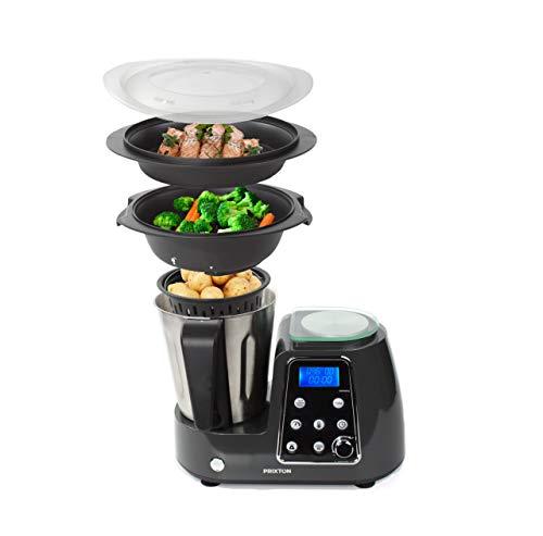 PRIXTON Kitchen Gourmet KG200 - Robot de Cocina Multifunción...