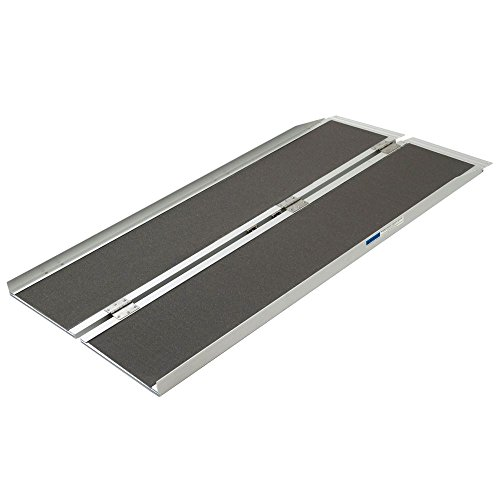 Silver Spring SCGPLUS-5 Aluminum Folding Wheelchair Ramp Plus 5' x 29'