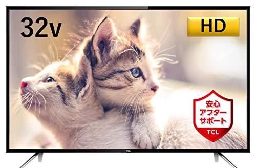 TCL 32V型 ハイビジョン 液晶 テレビ 外付けHDD対応 裏番組録画 HDMI4端子対応 32D2900