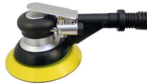 Karebac 99520 Random Orbital Pneumatic Air Sander with Self-Generated Vacuum, 6'