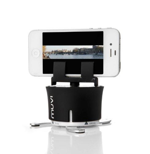 Veho Muvi X-Lapse Supporto Girevole per Fotocamera e Smartphone, Nero/Argento