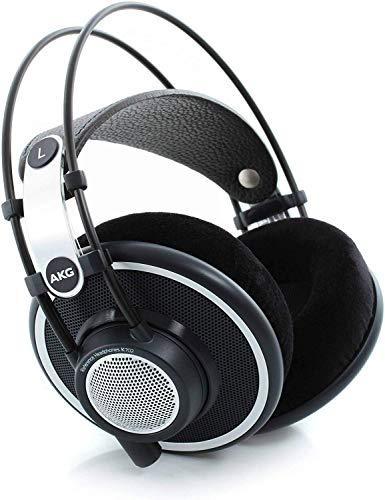 AKG Pro Audio K702 Over-Ear, Open-Back, Flat-Wire, Reference Studio Headphones,Black