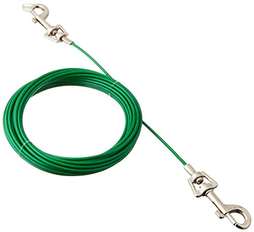 Boss Pet Products Q2220-000-99 Puppy Tie Out Cable 20'