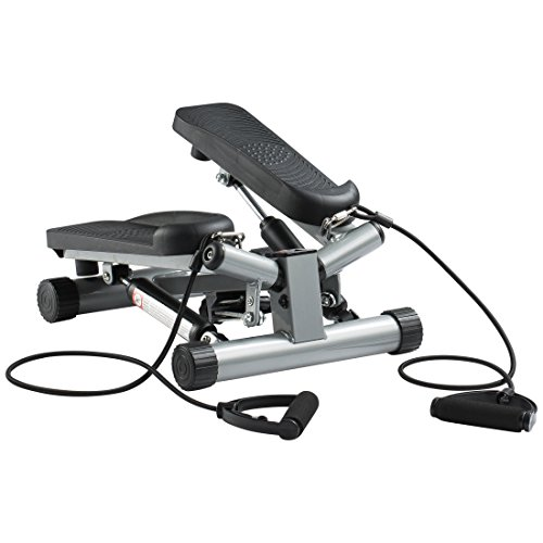 Ultrasport Máquina de step Swing Stepper con cintas de entr