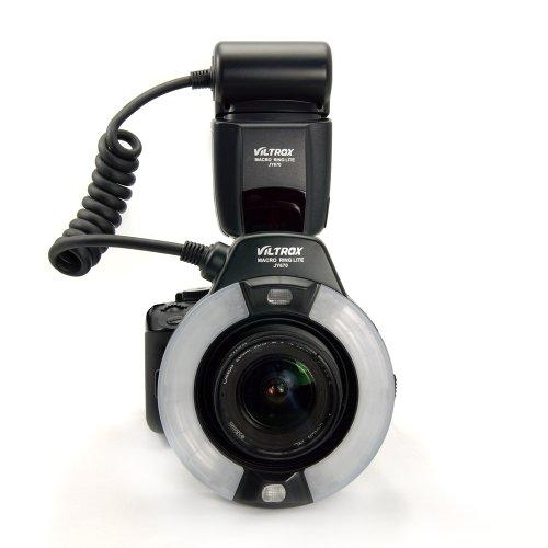 Viltrox JY-670 Macro RING Light マクロリングライト Canon/Nikon/Olympus/Samsung/Pentax/SonyなどのDSLR/ SLRカメラ対応