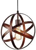 Lámpara Colgante Vintage, Lámpara de Techo Retro, Lámparas Colgantes Industriales de Metal E27 para Comedor, Barra, Café 30cm