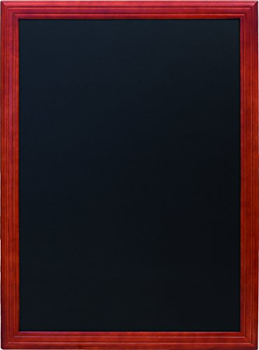 Securit Lavagna Universal - A muro - 80x60 - Mogano