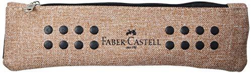 FABER-CASTELL Bustina Astuccio Portapenne Grip Melange Sabbia