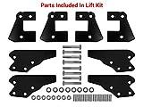 SuperATV 3' Lift Kit for Polaris Ranger Full Size XP 900 / Crew (2013+) - Front & Rear...