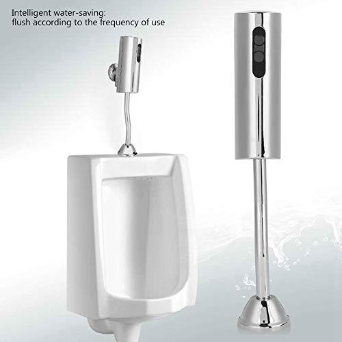 Automatischer Urinal Spülventil Sensor für die Wandmontage Intelligentes berührungsloses Urinal Spülventil für Badezimmer Wasser sparendes Auto Urinal Spülset