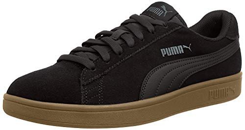 PUMA Smash v2, Zapatillas Unisex Adulto, Negro Black Black, 43 EU