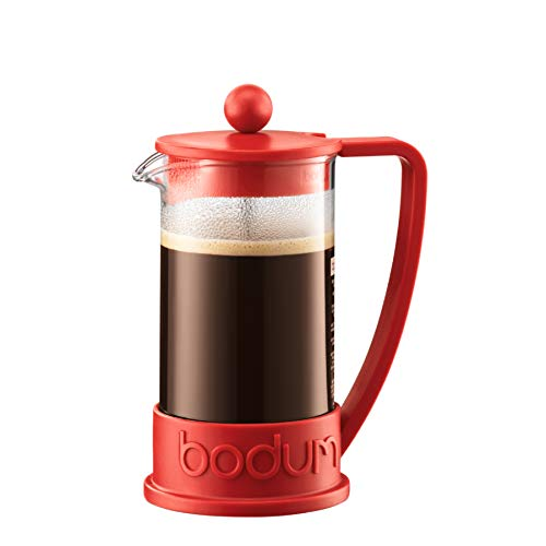 Bodum 10948-294 Cafetera émbolo, 0.35 Liters, Rojo