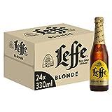 Leffe Blonde Birra - Pacco da 24 x 330 ml