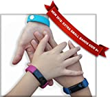Kids Fitness Tracker for Kids Activity Tracker - Smart Watch for Android Phones iOS Digital Smart Bluetooth Step Calorie Counter Sleep Monitor Exercise Pedometer Alarm Clock (2Bands-ExtraPinkBand)