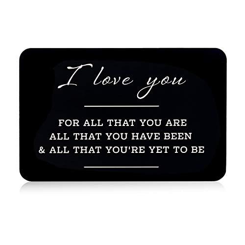 Valentines Day Gift for Boyfriend,Anniversary Engraved...