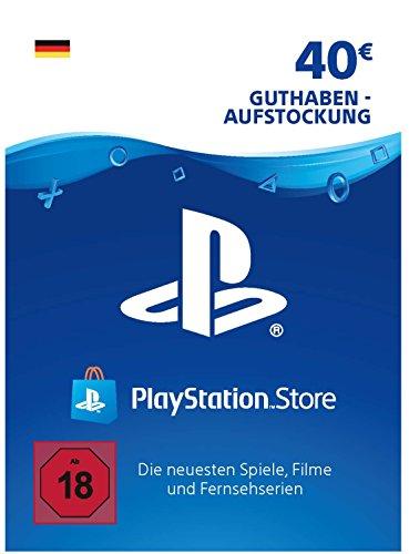 PSN Guthaben-Aufstockung   40 EUR   deutsches Konto   PS5/PS4/PS3 Download Code