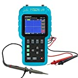 allsun Handheld Digital Oscilloscope Portable Automotive Diagnostic Scope 3 in 1 Color LCD Display DMM 50MHz Single Channel