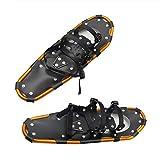 25inch Léger Aluminium Terrain Raquettes Raquettes Chaussures De Neige pour Les Hommes Femmes Jeunes Enfants,Mini Raquettes De Randonnée en Plein Air De Qualité,Fixations Ratchet (1 Pair)