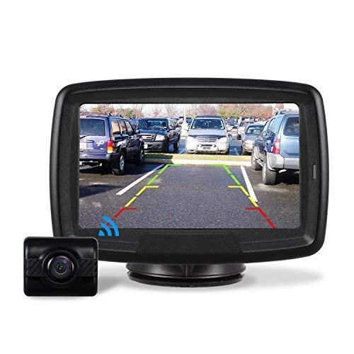 AUTO-VOX Rückfahrkamera Drahtlos Set mit 4.3' Zoll/11...