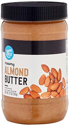 Amazon Brand - Happy Belly Almond Butter, 27 Ounces