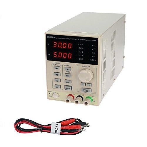 KORAD KA3005D - Precision Variable Adjustable 30V, 5A DC...