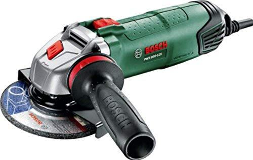 Meuleuse 1 main angulaire Bosch - PWS 850-125 (Livré avec: Capot de protection à réglage rapide, Poignée anti-vibration)