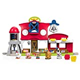 Fisher-Price Little People les Animaux de la Ferme Jouet Enfant, 5...