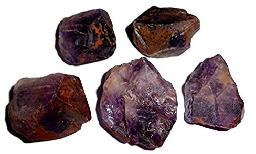 Sublime Gifts - 5pc Raw Cacoxenite Super 7 / Sacred 7 AA...