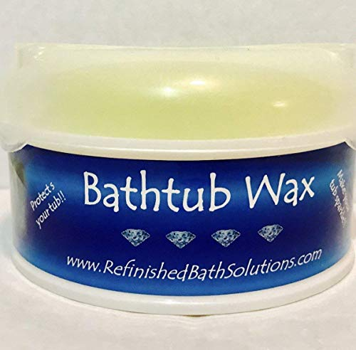 Bathtub Wax The Original Refinished Tub Protector - Best Tub Cleaner Polish - Best Polish To Protect Refinished Tubs - Prolongs Tubs Life - Ekopel 2k's Prefered Wax - Allows For Easy Cleaning