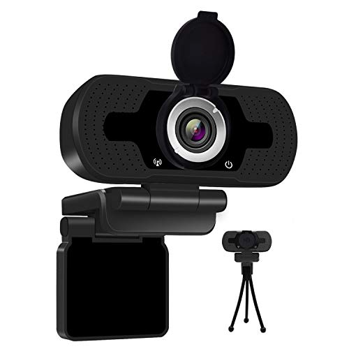 Anivia 1080P Full HD Webcam with Webcam Cover, Cámara para...
