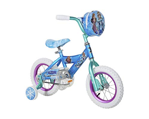 12' Snow Queen Bike with Training Wheels